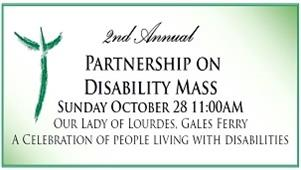Partnership on Disability Mass - October 28th
