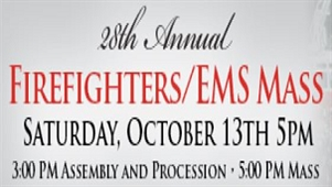 Firefighters/EMS Personnel Honor October 13