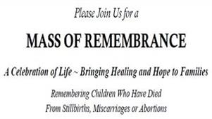 Mass of Remembrance Nov. 7th