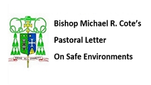 Bishop's Pastoral Letter on Safe Environments