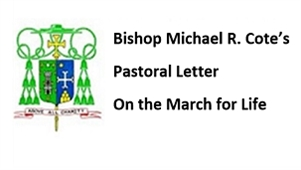 Bishop's Pastoral Letter on the March for Life