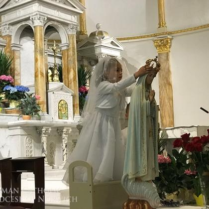 Click to view album: May Crowning of Mary