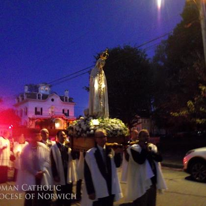 Click to view album: Feast of Our Lady of Fatima Mass