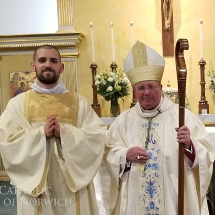 Click to view album: Mass of Ordination to the Diaconate