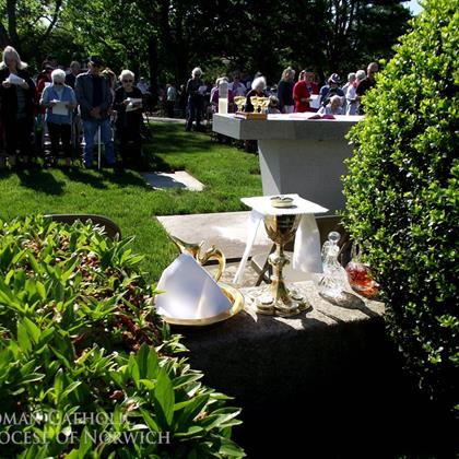 Click to view album: Memorial Day Mass