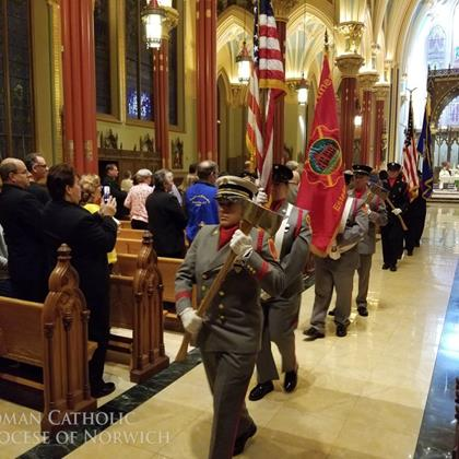 Click to view album: Mass for Firefighters and EMS Personnel