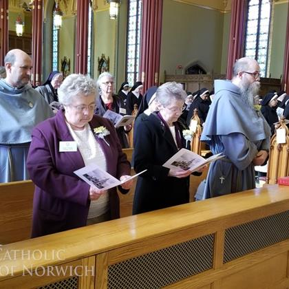 Click to view album: Consecrated Life Mass