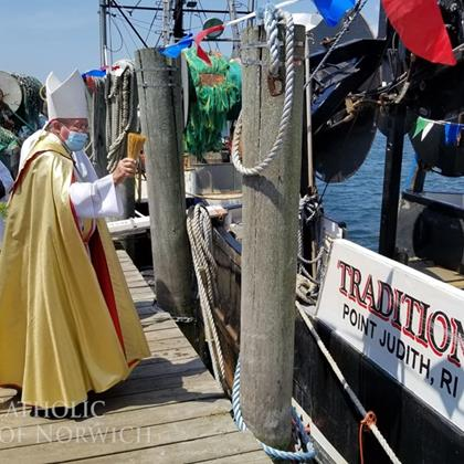 Click to view album: Blessing of the Fleet
