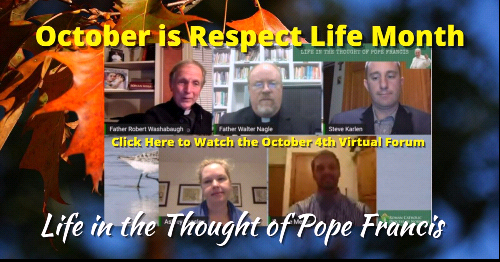 Virtual Forum Explores 'Life in the Thought of Pope Francis'