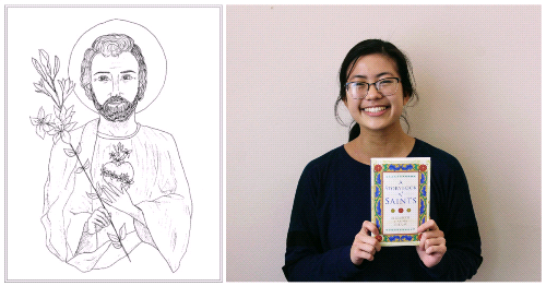 Cecilia's Artist Adventure: Academy of the Holy Family Senior is a Published Illustrator