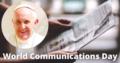 Pope Francis Releases World Communications Day Message