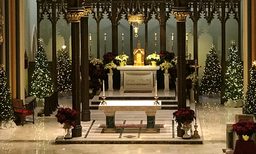 An Invitation to a Truly Sensory Experience- Christmas Eve Midnight Mass