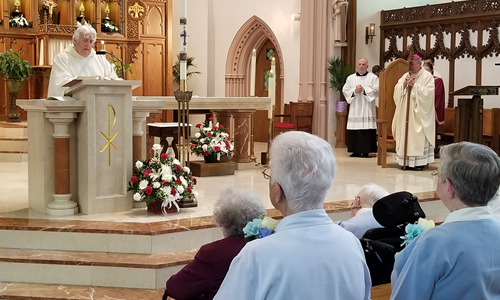 DHS Jubilarians Celebrate Faithful Service