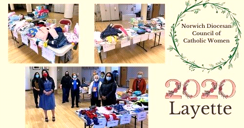 Benefiting Mothers in Need: Norwich Diocesan Council of Catholic Women Holds Drive-Through Layette