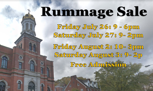 Baltic Church & School Hold 33rd Annual Rummage Sale > Diocese of