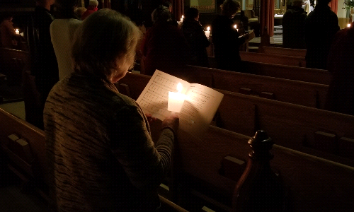 Many Voices Sing as One in Candlelight Concert and Compline