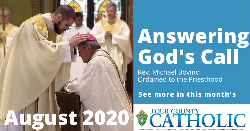 What's New in the August Four County Catholic
