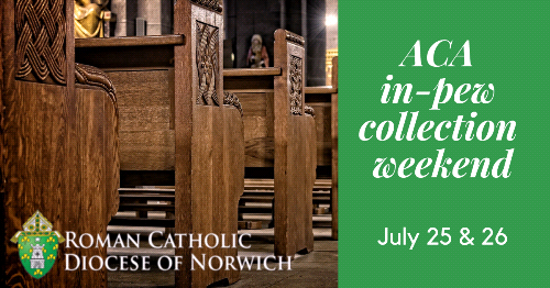 2020 Annual Catholic Appeal Collection Scheduled July 25-26