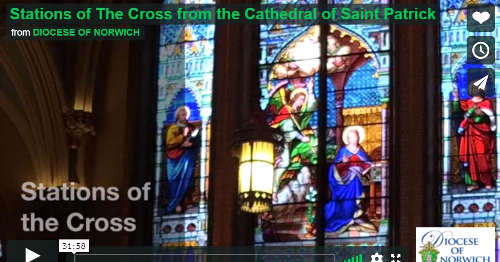 Stations of the Cross from the Cathedral of Saint Patrick