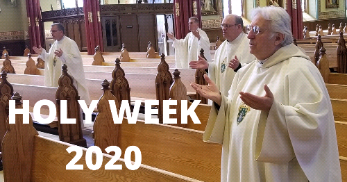 Masses Go Online for Holy Week