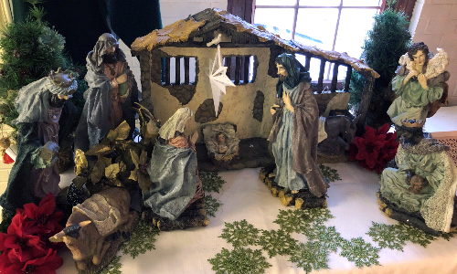 Send in Your Nativity Scene Photos to be Used in an Online Gallery