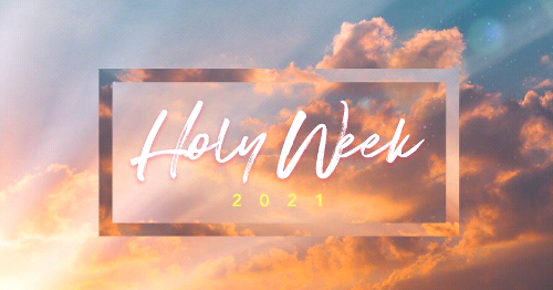 Cathedral Holy Week Schedule