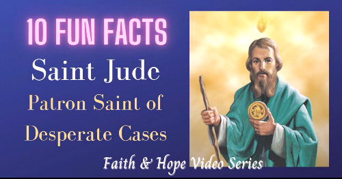 Hope and Faith Series - Saint Jude