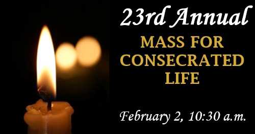 Annual Mass of Consecrated Life