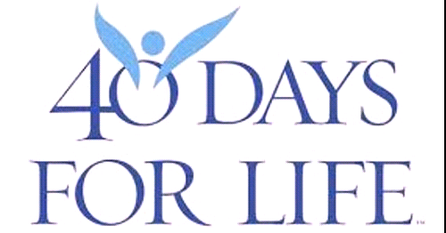 40 Days For Life is Returning With September 22nd Mass