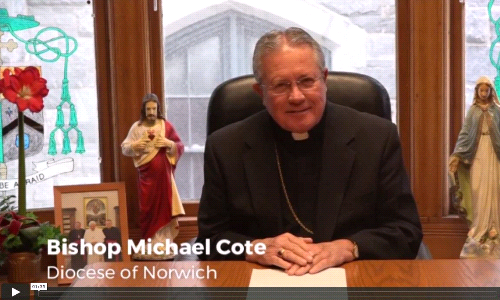 A Video Christmas Message from Bishop Cote