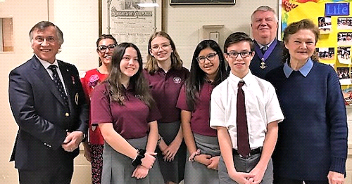 Sacred Heart Students Win Knights of Columbus Essay Contest