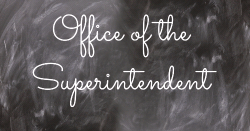 Superintendent's Letter: See the Positives Among the Challenges of this School Year