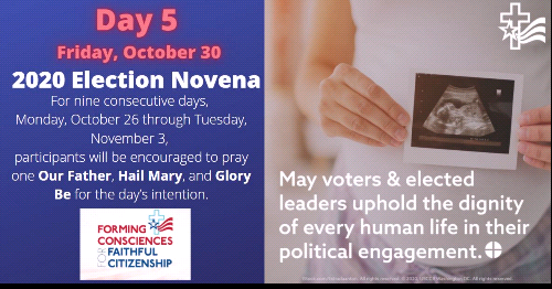 Election Novena - Day 5