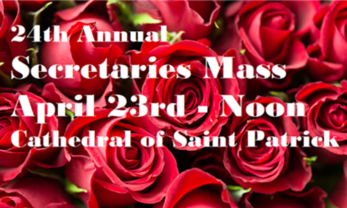 Twenty-Fourth Annual Diocesan Secretaries Mass