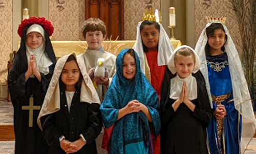 How One School Celebrated New England Catholic Schools Week