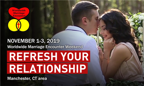 Registrations Now Being Accepted for Upcoming Worldwide Marriage Encounter Weekend in the Manchester, CT Area