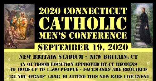 The 2020 Connecticut Catholic Men's Conference: Hits a Home Run!