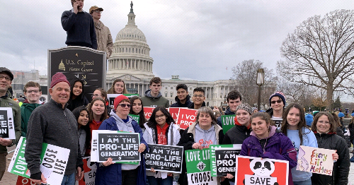 March for Life Stirs Hopes of Norwich Diocese Faithful