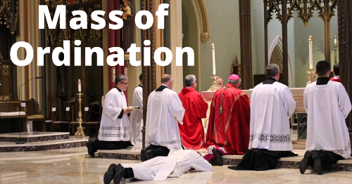 See the Mass of Ordination of Reverend Mr. Michael Bovino on June 27th