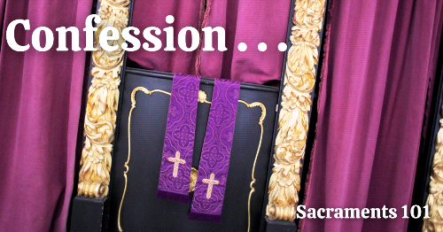 Confession Cleanses Us from Sin