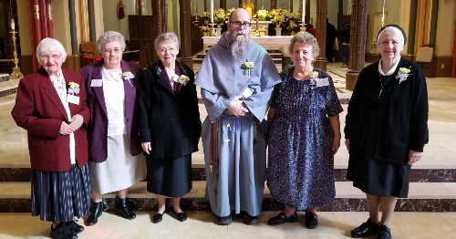 Jubilarians Renew Vows at Mass for Consecrated Life