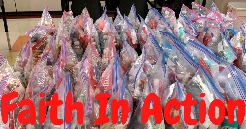 Faith in Action 'Blessing Bags' Deliver Hope