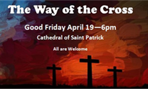 The Way of the Cross - Good Friday, April 19th